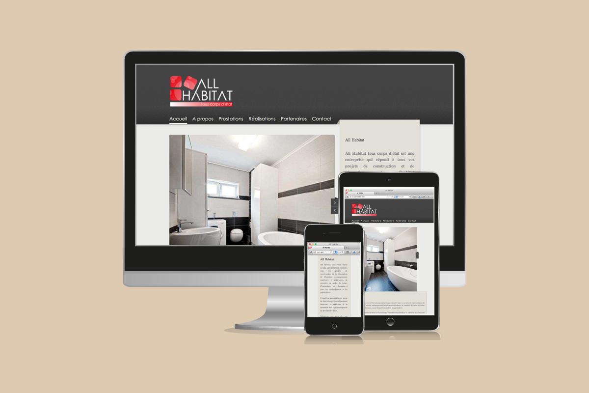 Site web All Habitat