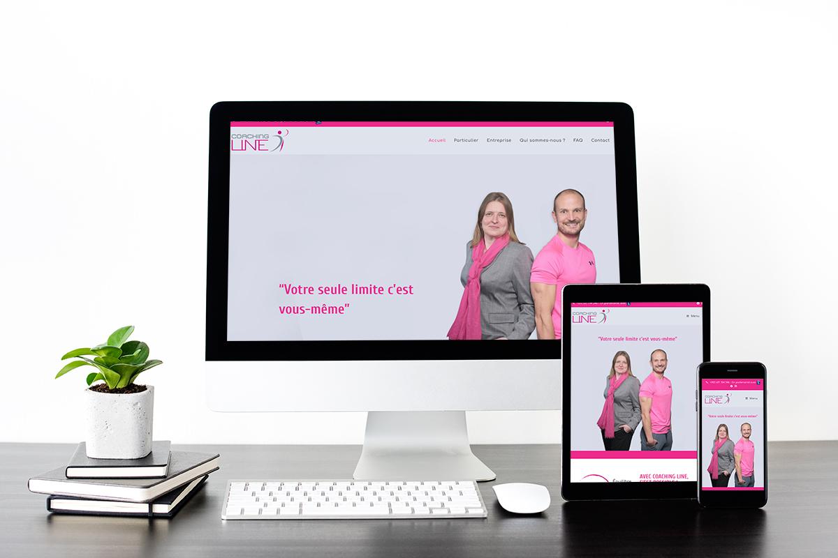 Site web Coaching Line