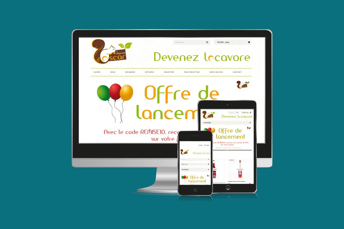 Site web Oscar